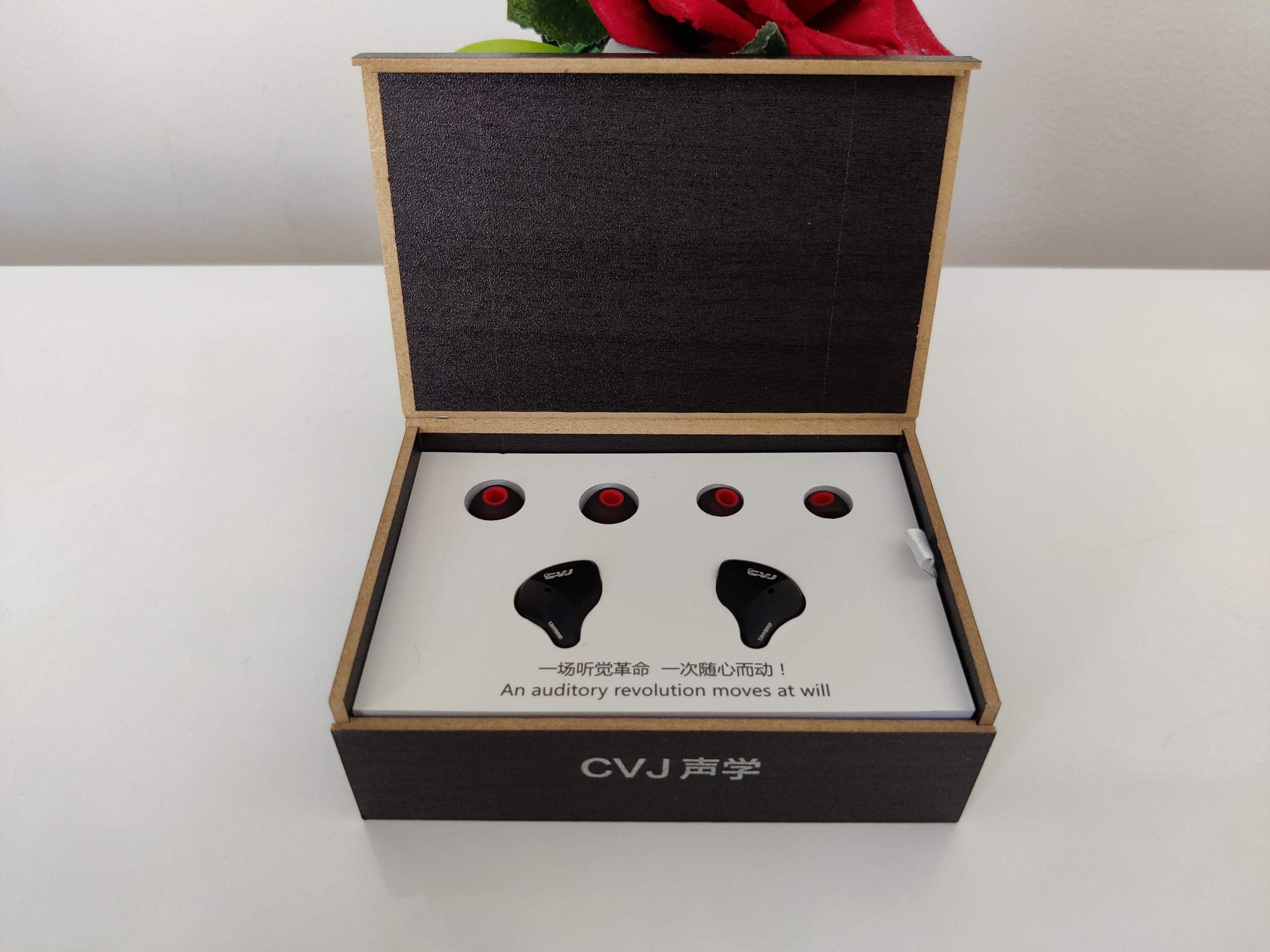 Package écouteurs CVJ
