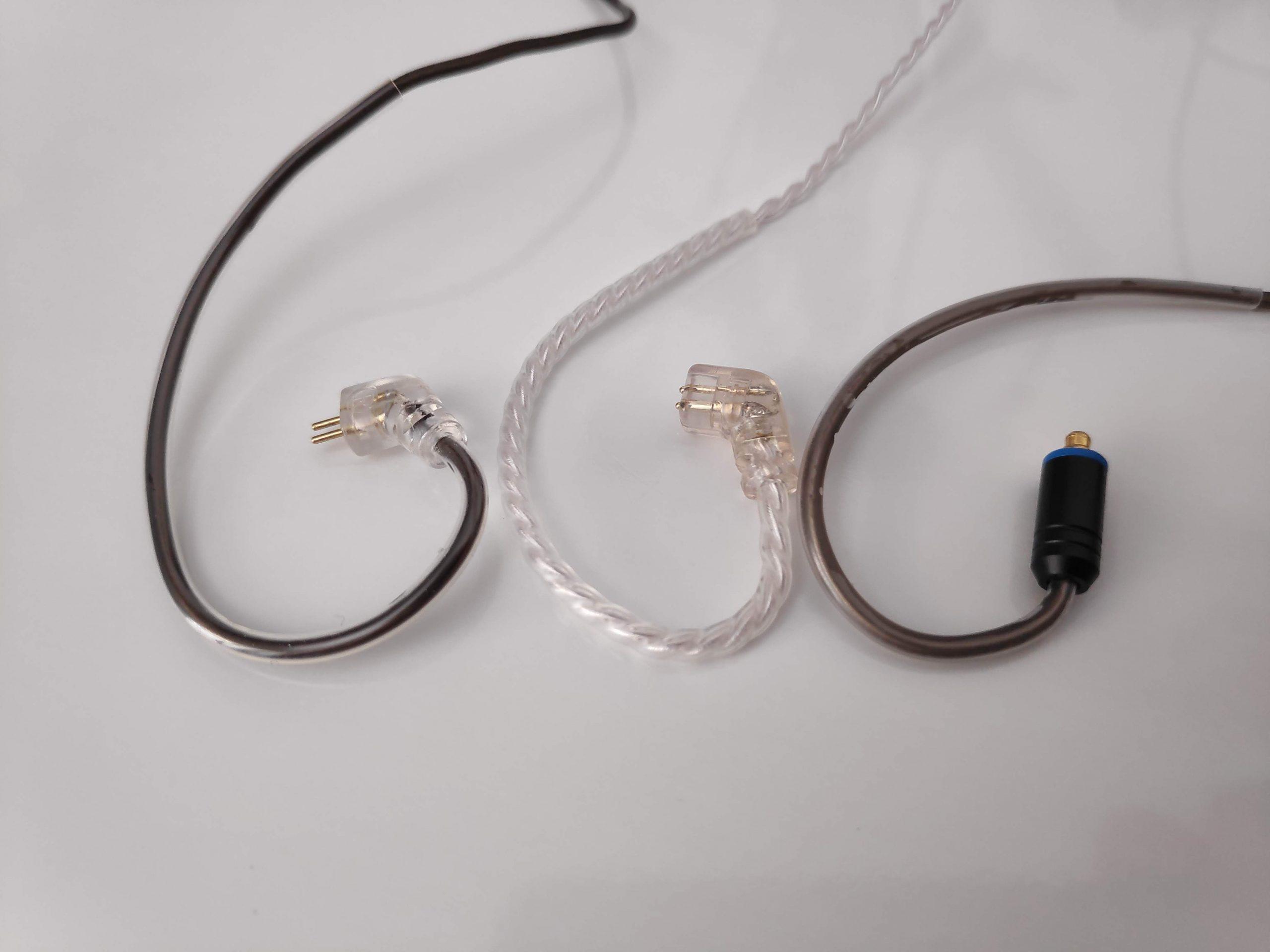 Connecteurs câbles audio