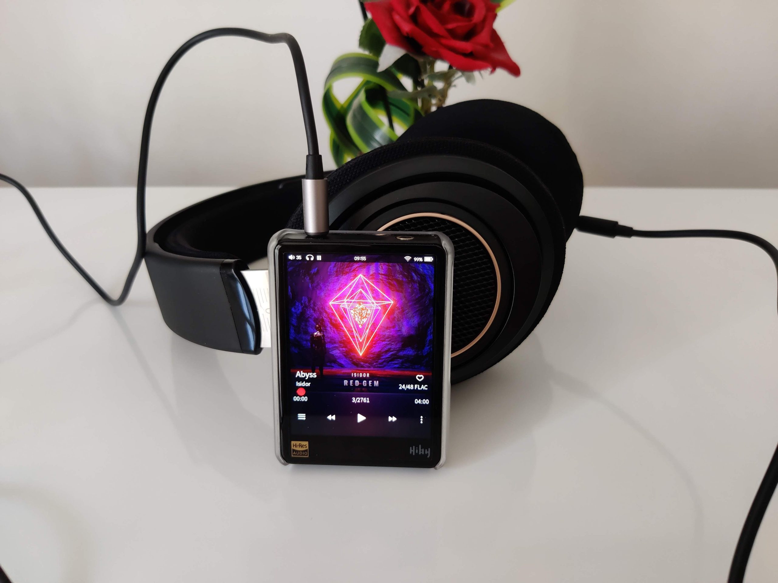 HiBy R3 et Philips SHP9600