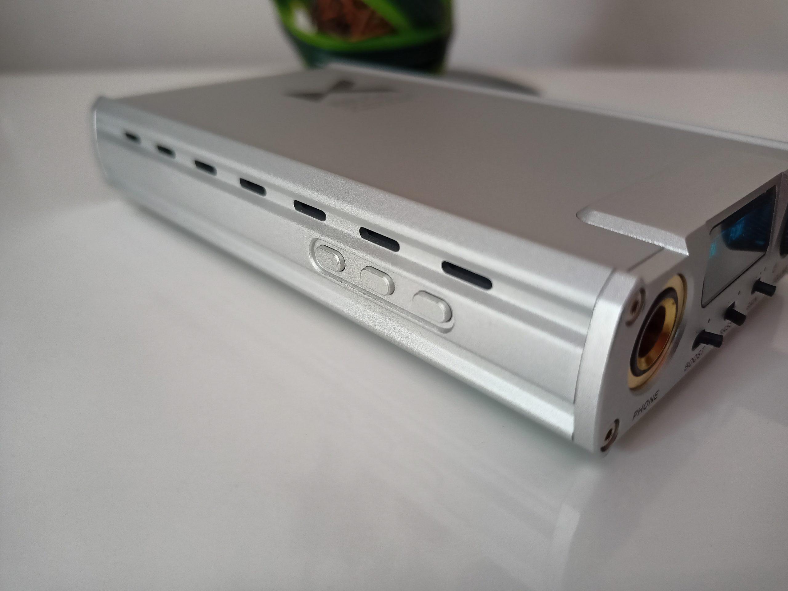 XD05 Plus boutons latéraux