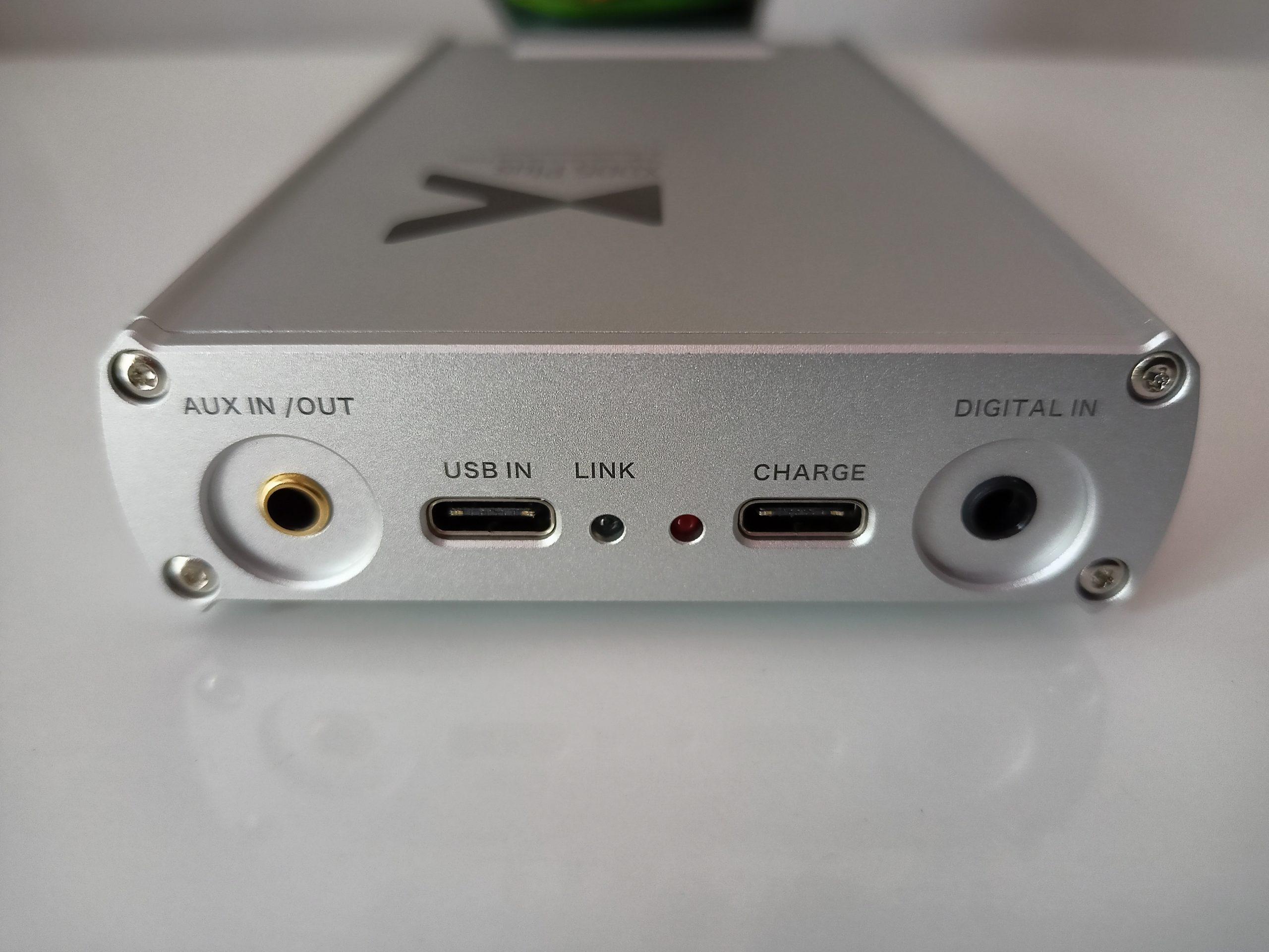 Connectique Xduoo XD05 Plus