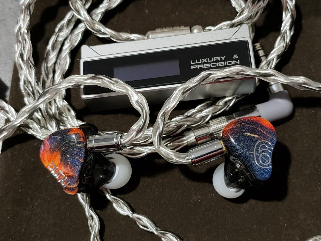 Luxury Précision W1 et Dunu SA6