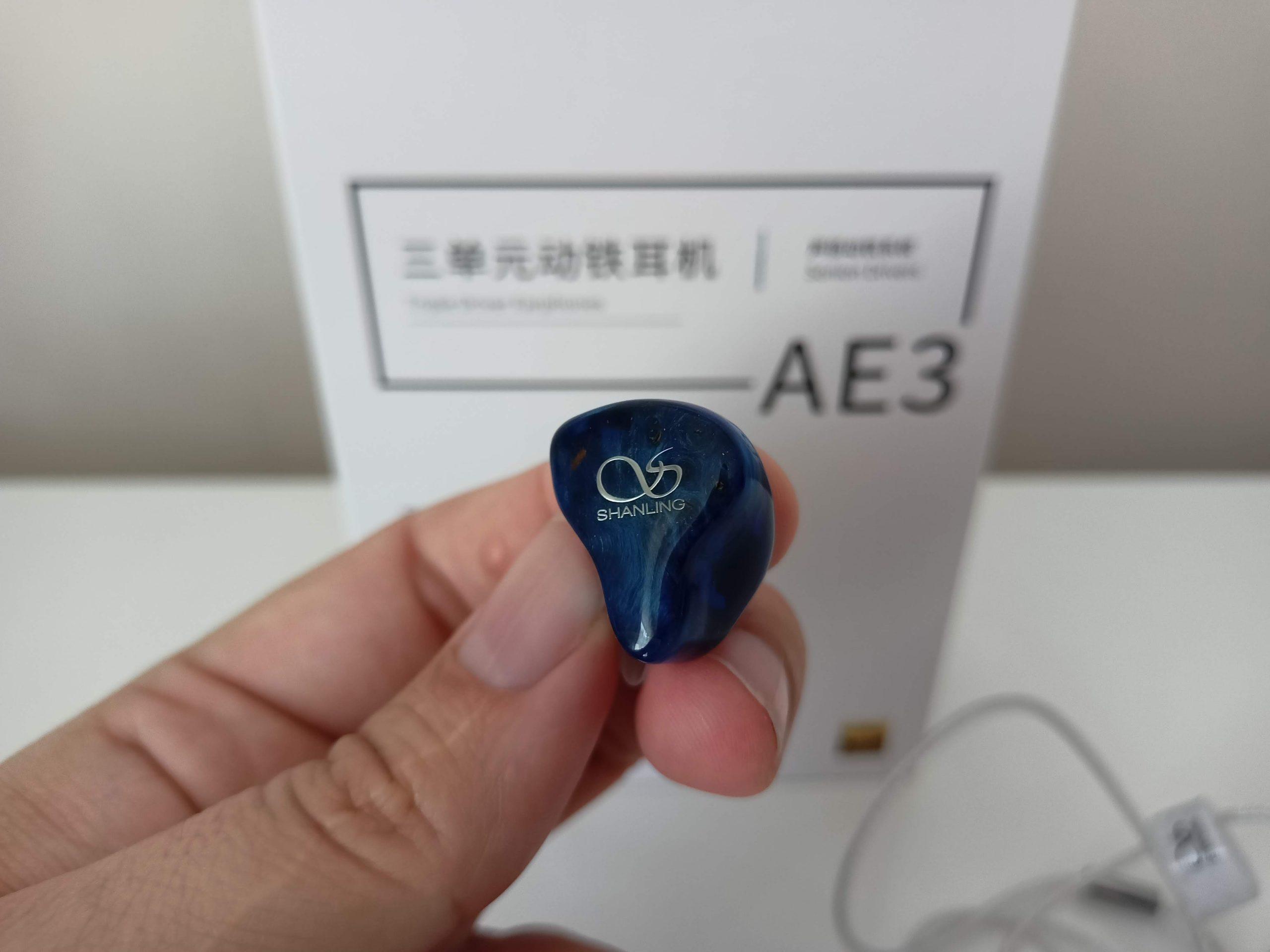 Design écouteurs Shanling AE3