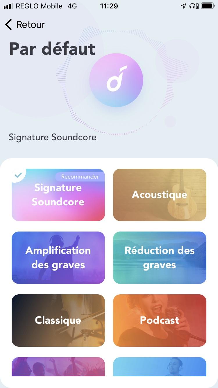 Appli Soundcore EQ