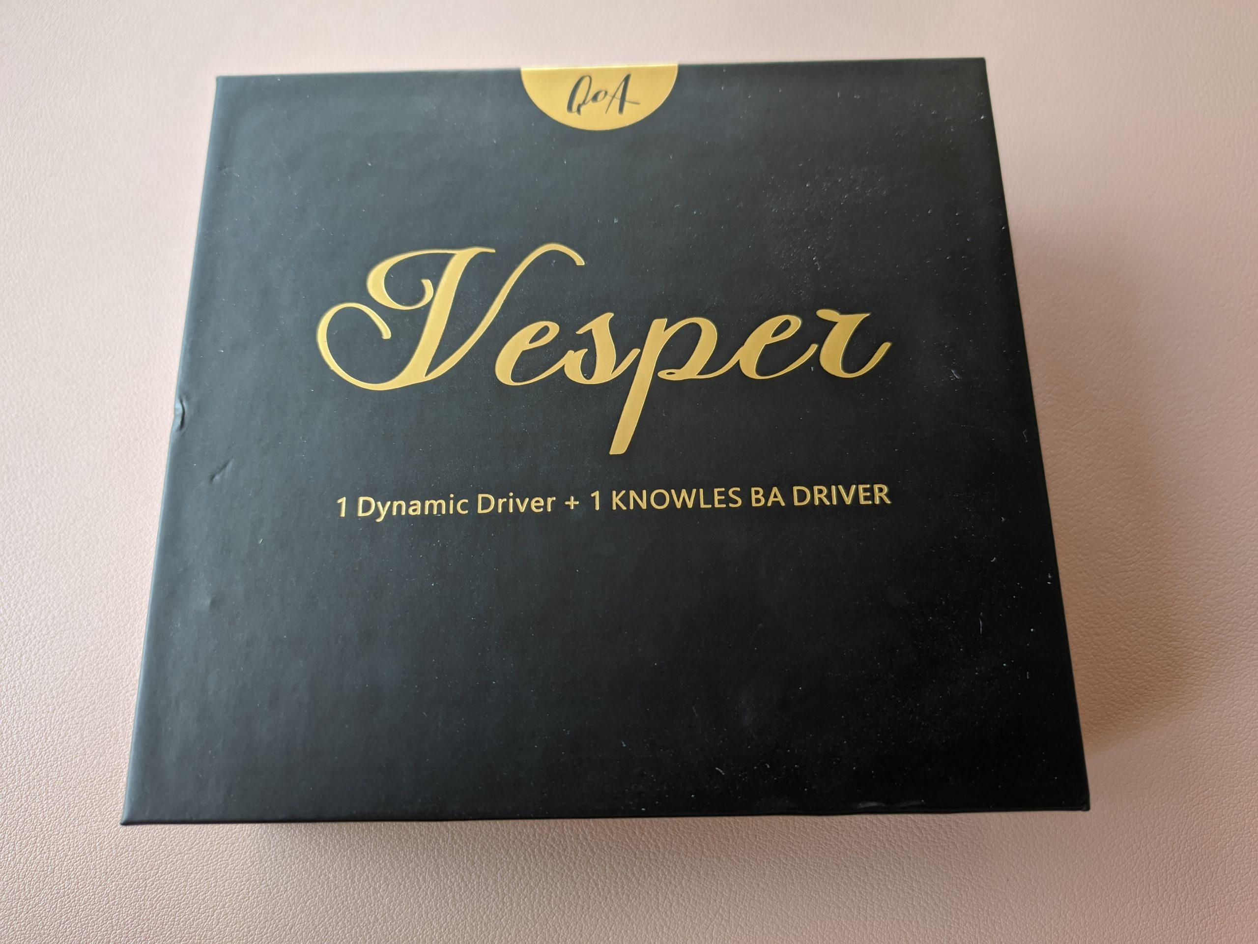Packaging QoA Vesper